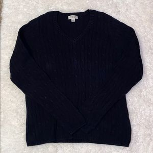 St. John's Bay Cable Knit Sweater M19